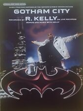 R. Kelly: Gotham City (Piano/Vocal/Guitar Sheet Music) - RARE, MINT CONDITION!