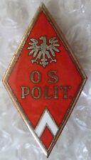 Badge- Poland Polish Officer School of Air Badge - OSL Badge (Enamel, Org*)