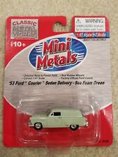 1953 Ford Courier Sedan Delivery, Sea Foam Green, Cmw Mini Metals Ho #30289 New!