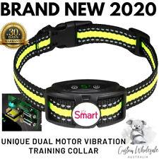 Safe Humane Dual Vibration No Bark Auto Dog Training Collar No Fence No-Shock