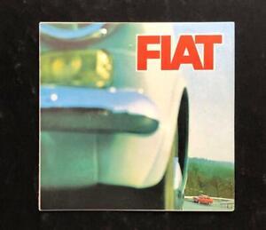 FIAT 500D 600D 850 1100D 1300 1500 1500L 1600S 1800B 2300 2300S CAR BROCHURE