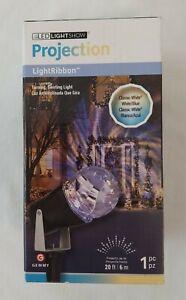 GEMMY Projection LightRibbon LED Lightshow Classic White / Blue - 20 ft #13847