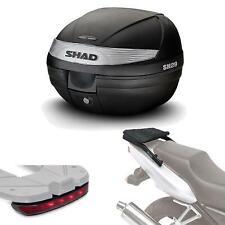 Kit fijacion y maleta baul trasero + luz de freno regalo SH29 compatible con HO