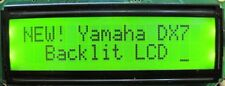 NEW!! Yamaha DX7 Backlit LCD kit: MTG LCD w/ YEL/GREEN backlight for Synthesizer