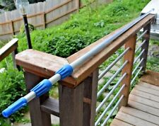 Telescopic Pole  3 section, 30 ft   VERY NICE