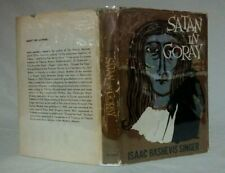 Isaac Bashevis Singer SATAN IN GORAY~Noonday Press~1st ed-Stated 2nd Print 1956