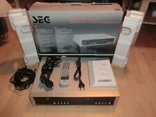 SEG DVRC 735 DVD-Recorder / VHS-Videorecorder, komplett in OVP, 2J. Garantie