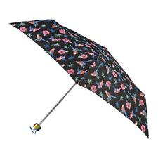 totes Supermini Tropical Birds Print Umbrella (3 Section)