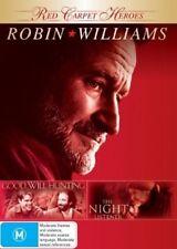 GOOD WILL HUNTING + THE NIGHT LISTENER – 2 DVD SET, ROBIN WILLIAMS, MATT DAMON
