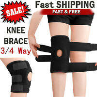 Adjustable Knee Patella Support Brace Sleeve Wrap Cap Stabilizer Sports Pain Pad