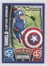 2015 Topps Marvel Avengers #154 Captain America's Shield America Card 0p3