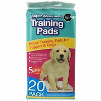 Super Absorbent Pet Training Pad Pee Wee Mats Puppy Dog Cat Anti Odour