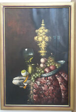 "Peter Kloton (1927-1985) - Listed Hungarian Artist - O/C  - 36"" x 24"", signed."