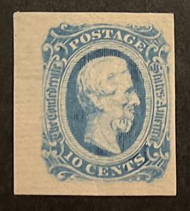 TDStamps: US Confederate States CSA Stamps Scott#12A Mint H OG Crease
