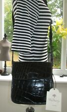 AUTHENTIC VINTAGE MULBERRY BLACK CONGO LEATHER ELIOT SHOULDER BAG WITH TAG
