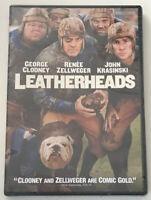 Leatherheads DVD, 2008, Widescreen NEW Sealed - George Clooney, Renee Zellweger
