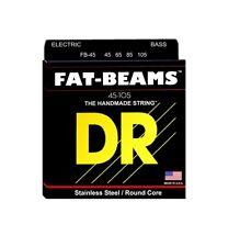 DR Strings FB-45 Fat-Beams Bass Strings Medium, 45-105