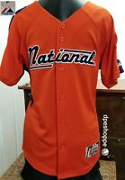 National League 2005 MLB ALL Star Game Detroit Mi. Majestic Sewn Jersey Youth LG