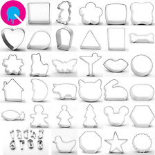 41pc Cookie Cutter Collection by Yolli bakery biscuits shapes Metal Mixed Set