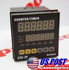 AUTONICS Counter CT6-2P 6 DIGIT DIN48 DUAL PRESET SPST 1A NIB #FAST SHIPPING#