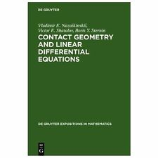 De Gruyter Expositions in Mathematics: Contact Geometry and Linear...