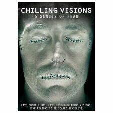 Chilling Visions: 5 Senses of Fear (DVD, 2013) Usually ships within 12 hours!!!