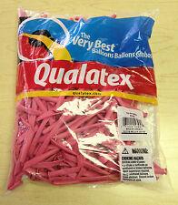 Qualatex Rose 260Q Entertainer Balloons ~ 100 ct.