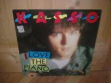 """KASSO i love the piano 12"""" MAXI 45T Italo"""
