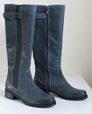 $365 DONALD J PLINER BURIEL Leather Zip Tall BOOTS Womens 9.5 NEW IN BOX