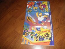 Simpsons Magazine-Wizard-Three Page Cover-Plus Cards