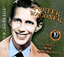 Country Music Ambassador by Porter Wagoner Music CD Tin Including 10 Top Ten Hit