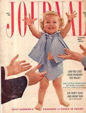 1956 Ladies Home Journal January-Charleston SC;Piney Woods MS;Paris TN;Yugoslavi