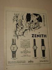 ZENITH OROLOGIO CLOCK=ANNI '50=PUBBLICITA=ADVERTISING=WERBUNG=380