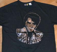 RaRe *1977 ELVIS PRESLEY* vintage concert tour t-shirt (M/L) 70's Rock Soul R+B