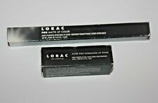 LORAC Alter Ego Hydrating Lip Stain- Activist ,WITH BOX + LIP COLOR LILAC LOT/2