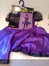 Violet Witch Halloween Costume Sz Medium Nice L@@K