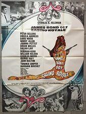 Affiche CASINO ROYALE Peter Sellers JAMES BOND Niven URSULA ANDRESS 120x160 1967