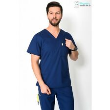 Tunique Medicale Homme Code Happy Bleu Marine 16600AB