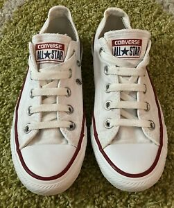 Converse - ALL STAR - Pumps - Low Tops - White - UK Size 3.5