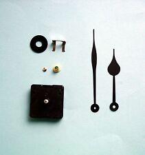 MEGA-QUARTZ GERMAN 16mm shaft quartz clock movement kit 135mm spade hands