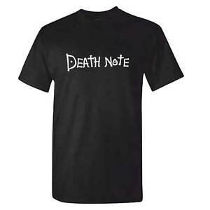 DEATH NOTE TShirt -  Tsugumi Ohba Anime Manga Comic Deathnote T Shirt Shinigami