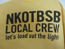 Nkontbsb – New Kids On The Block Backstreet Boys - Size Xl –Local Crew T-Shirt