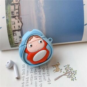 Ponyo On The Cliff AirPod 1/2 Case Only Anime AirPods Apple Ponyo Studio Cute 🥰