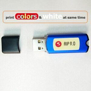 New AcroRIP White ver 9.0 RIP software With Lock Epson Printer Dtg Dtf Printer
