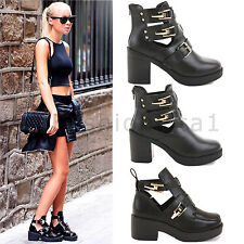 Women's Casual Synthetic Leather Pull on Ankle Boots