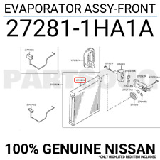 272811HA1A Genuine Nissan EVAPORATOR ASSY-FRONT 27281-1HA1A