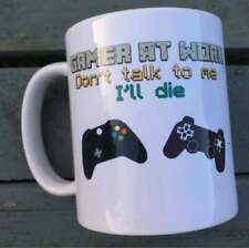 Gamer mug minecraft gift Christmas birthday cup gamer at work
