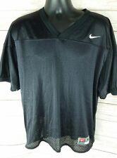 Nike Black Blank Men's Medium M Nylon Football Jersey Vintage Practice