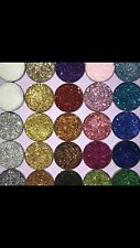 Pressed glitter eyeshadow X 1- Custom made and stock colours available. Handmade
