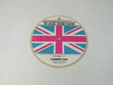 "THE LAMBRETTAS - D-A-A-ANCE - RARE 7"" PICTURE DISC FADED COLOUR 1980 UK MOD - Q2"